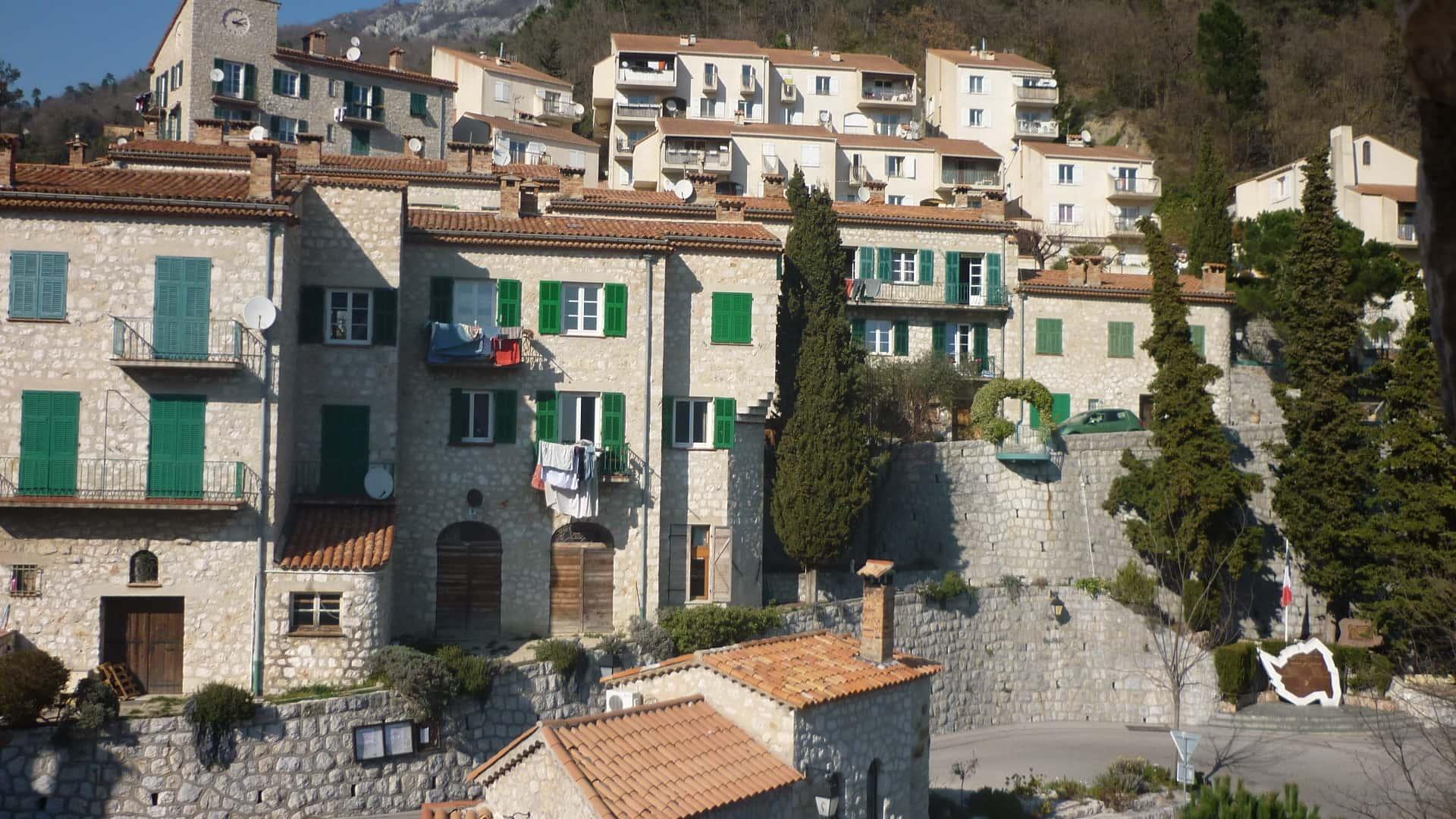 castillon village vue