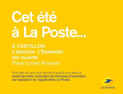 Relais postal à Castillon