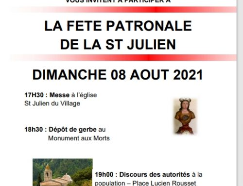 Saint Julien 2021